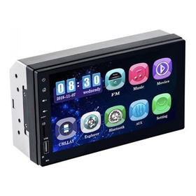 Reproductor Carro Mp5 ,bluetooth, Pantalla 7 ,control Remoto
