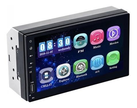 reproductor carro mp5 ,bluetooth, pantalla 7 ,control remoto