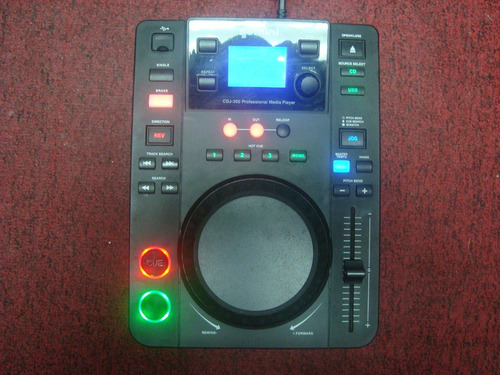 reproductor cd mp3 media player profesional gemini cdj-300