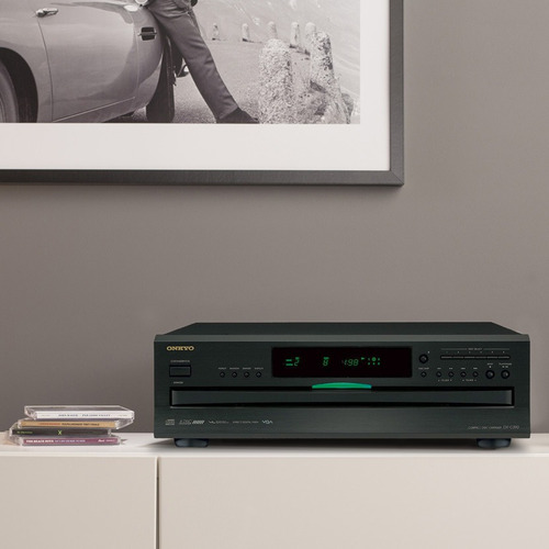 reproductor cd onkyo dx c390 (para 6 discos)