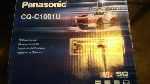 reproductor cd radio para carros panasonic nuevo en caja