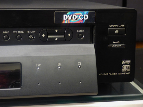 reproductor cd sony dvp s7000.  alta gama . rmssound