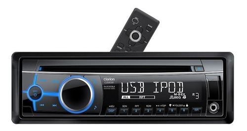reproductor clarion cz202 radio  cd mp3 usb aux ipod iphone