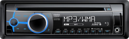 reproductor clarion cz202 usb / tuner / aux / cd / ipod