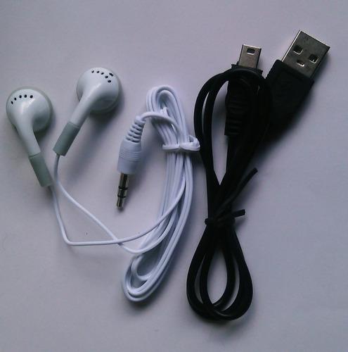 reproductor clip mp3 lcd + memoria kingston micro sd 4 gb