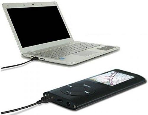 reproductor con pantalla mp3 mp4 radio y grabador voz
