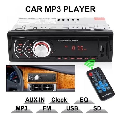 reproductor d carro mp3 usb sd lcd aux control remoto