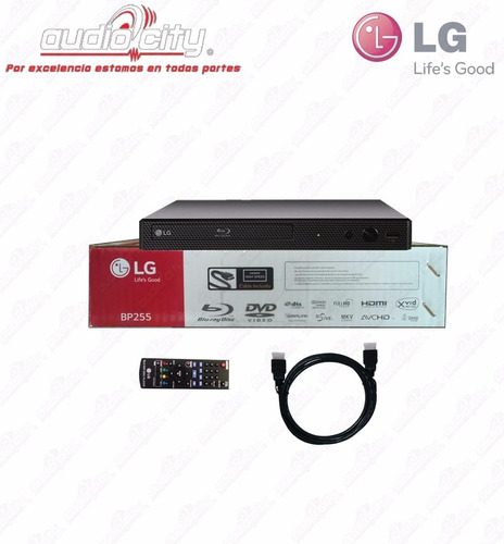 reproductor de blu-ray lg bp255 smart multi-room dvd cd mp3