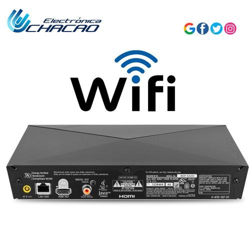 reproductor de blu ray sony smartv wifi bdps3200
