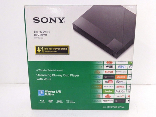 reproductor de bluray /sony bdp-s3700