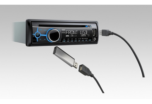 reproductor de carro clarionmp3 cd usb aux ipod iphone cz202