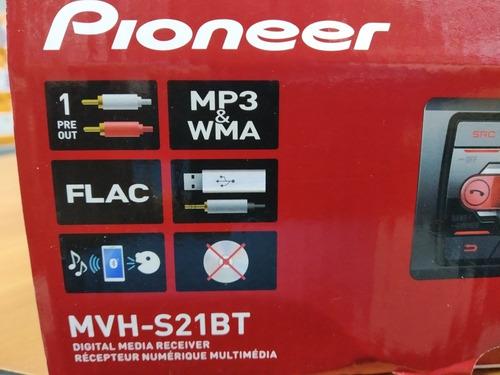 reproductor de carro pioneer mvh-s21bt(80v)