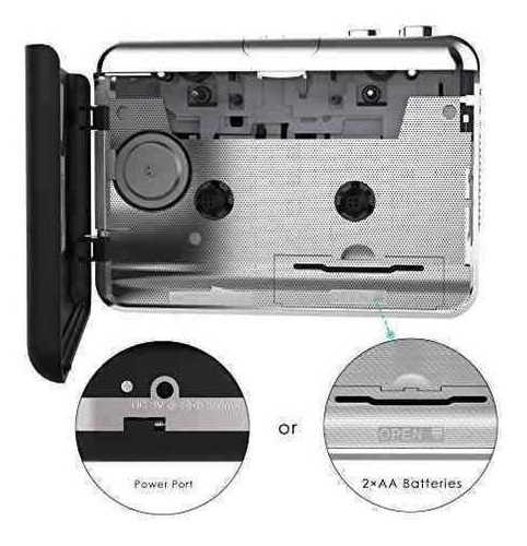 reproductor de cassette usb, 2018, la última cinta de casset