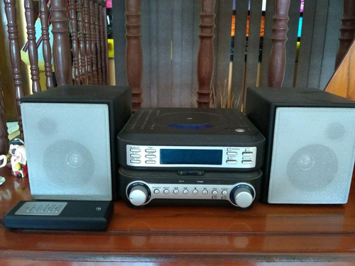 reproductor de cd compacto gpx home sistem