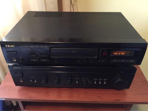 reproductor de cd marca teac  en perfecto estado .
