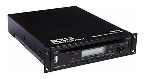 reproductor de cd / mp3 con montaje en rack de rolls con con