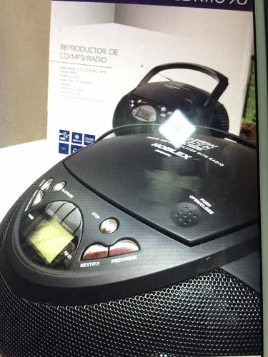 reproductor de cd, mp3 y radio cdr11o9u