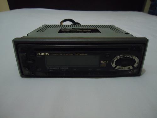 reproductor de cd para carros audio marca aiwa care extraibl