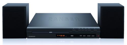 reproductor de dvd + 2 parlantes ranser ht-ra100 hdmi usb