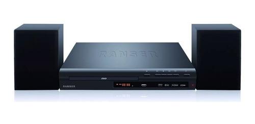 reproductor de dvd+audio 2.1 ranser ra100 usb hdmi radio fm