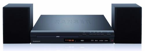 reproductor de dvd + home theatre ranser