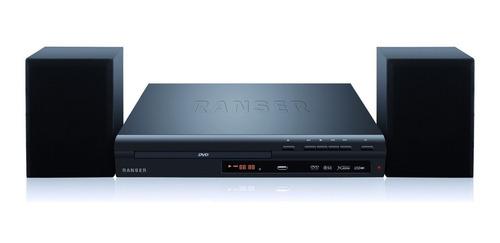 reproductor de dvd + home theatre ranser ht-ra 100