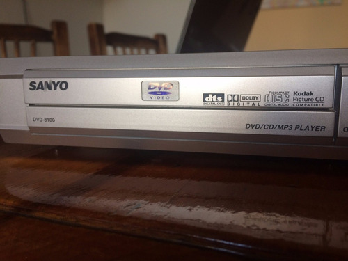 reproductor de dvd (impecable) sanyo