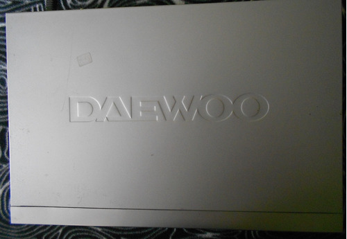 reproductor de  dvd marca daewoo