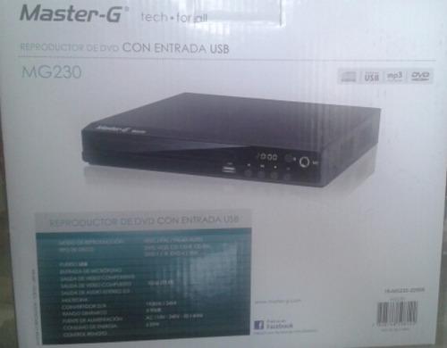 reproductor de dvd master g mg230