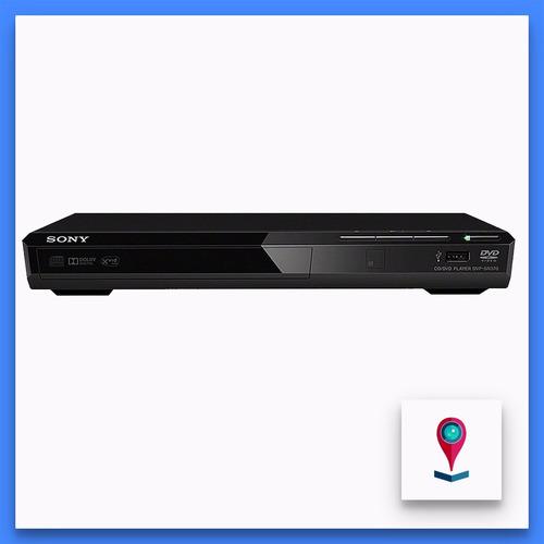 reproductor de dvd sony dvp-sr370 usb compacto retoma h/6dvd