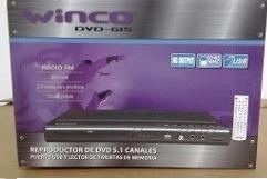 reproductor de dvd winco  hdmi 5.1 divx usb sd karaoke