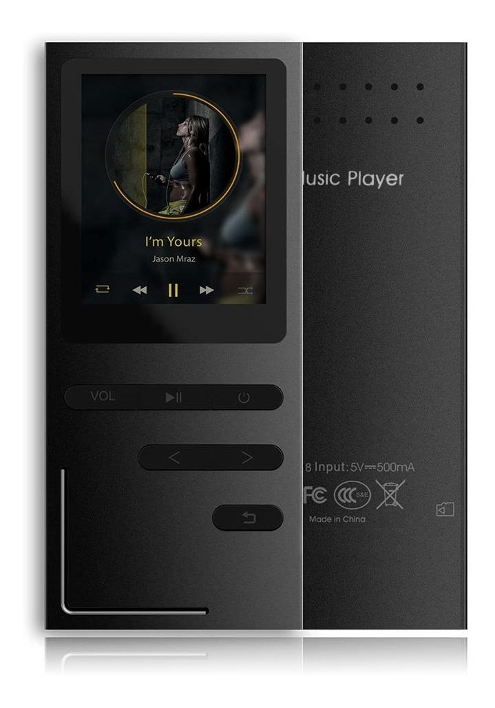 08a9e0946 Reproductor De Mp3 C18 Con Sonido De Alta Definición, Negro ...