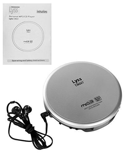 reproductor de mp3 personal cd 100second antiskip proteccion