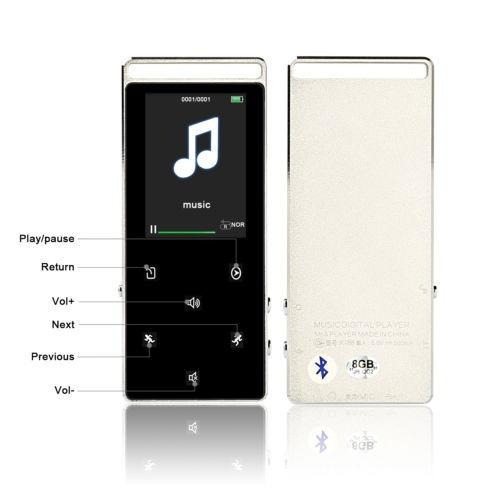 reproductor de música bluetooth mp3 hifi sonido lossless