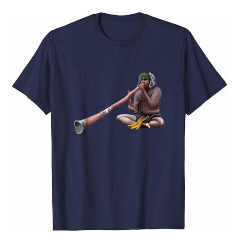 reproductor de música didgeridoo camiseta tee camiseta camis