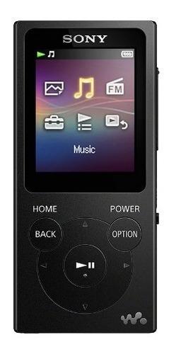 reproductor de música digital walkman rojo 4gb nw-e393