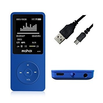 reproductor de música grabadora de voz mp3 8 gb mymahdi