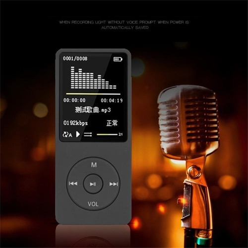 reproductor de música portátil mp4 sin pérdida de sonido neg