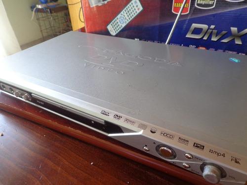 reproductor divx karaoke fm radio built-in amplifier mp3 dvd
