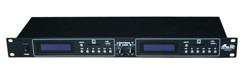 reproductor doble control 4 usb doble mp3 gbr controlador dj