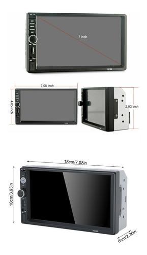 reproductor doble din , pantalla 7 pulgadas , mp5, bluetooth