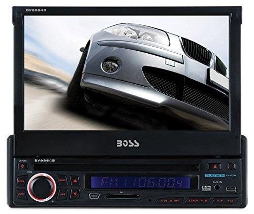 reproductor dvd boss 7 pulg motorizada 340 watts bluetooth