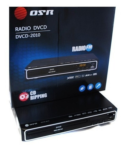 reproductor dvd cd nuevo sd usb mp3 mpeg  jpg divx 5.1 origi