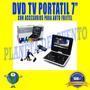 Dvd Tv Portatil 7 Fujitel Incluye Accesorios