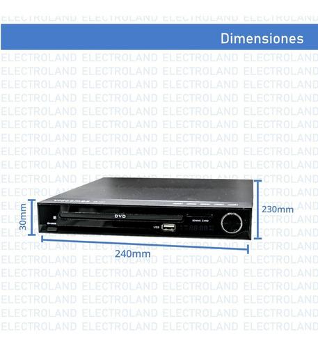 reproductor dvd hdmi cd mp3 boedo copia cd  a pendrive