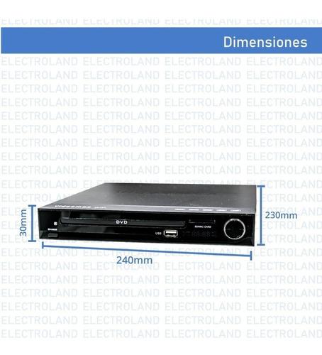 reproductor dvd hdmi cd mp3 boedo copia cd  a pendrive local