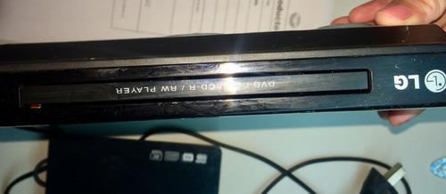 reproductor dvd lg con control remoto divx dv640