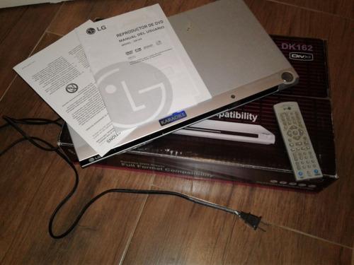 reproductor dvd lg modelo dk162 con karaoke