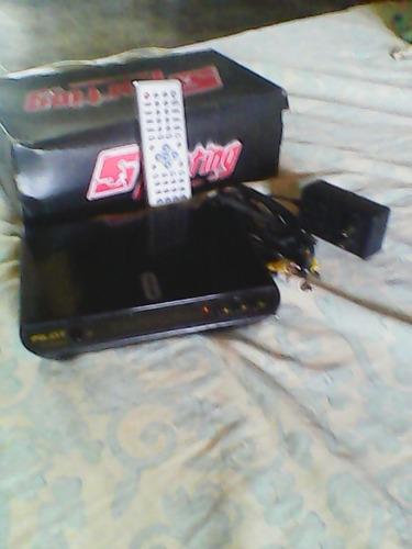 reproductor dvd pilot con sus accesorios