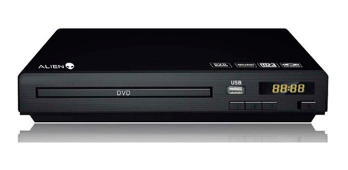reproductor dvd player alien 077a + control ct mmk pch